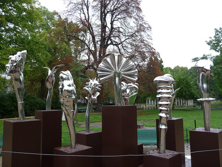 Fleurs extraordinaires, Ru Xiaofan, parc Monceau, Paris 8e (75)