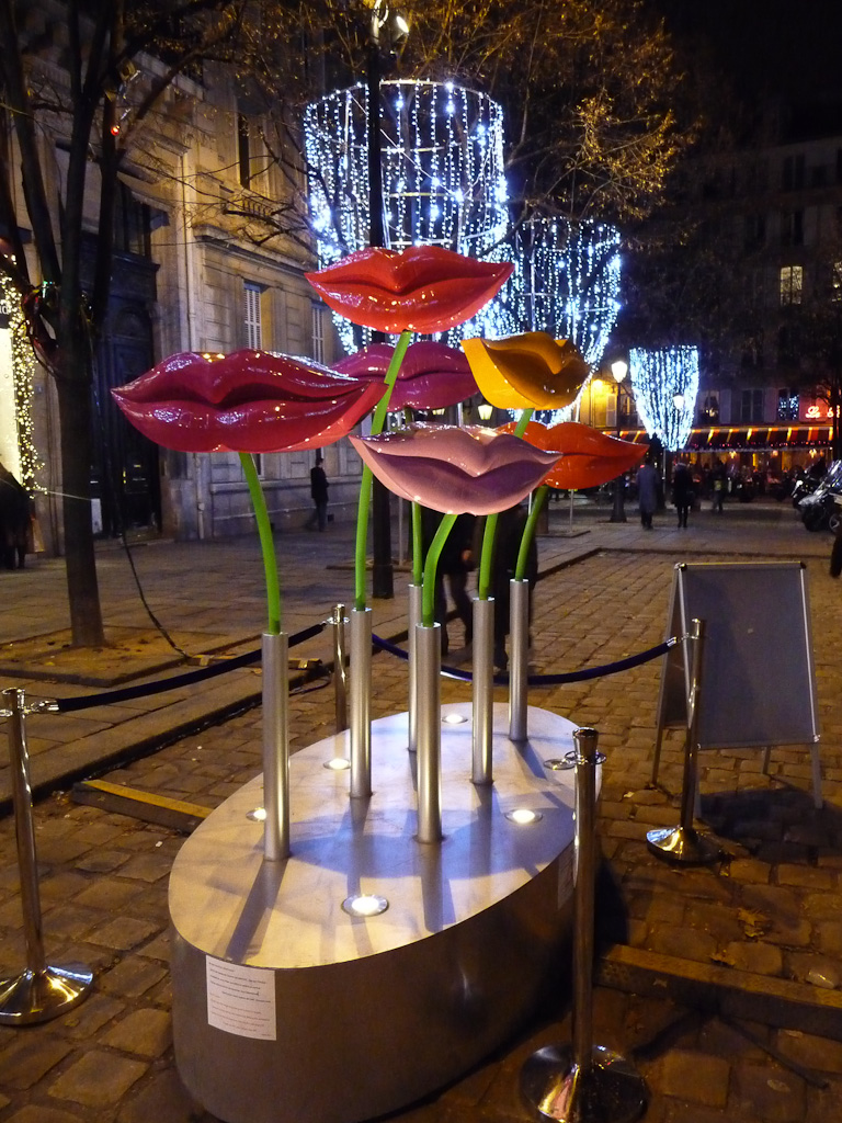 Speaker Mouths (LLND), place Saint-Germain, Paris 6e (75)