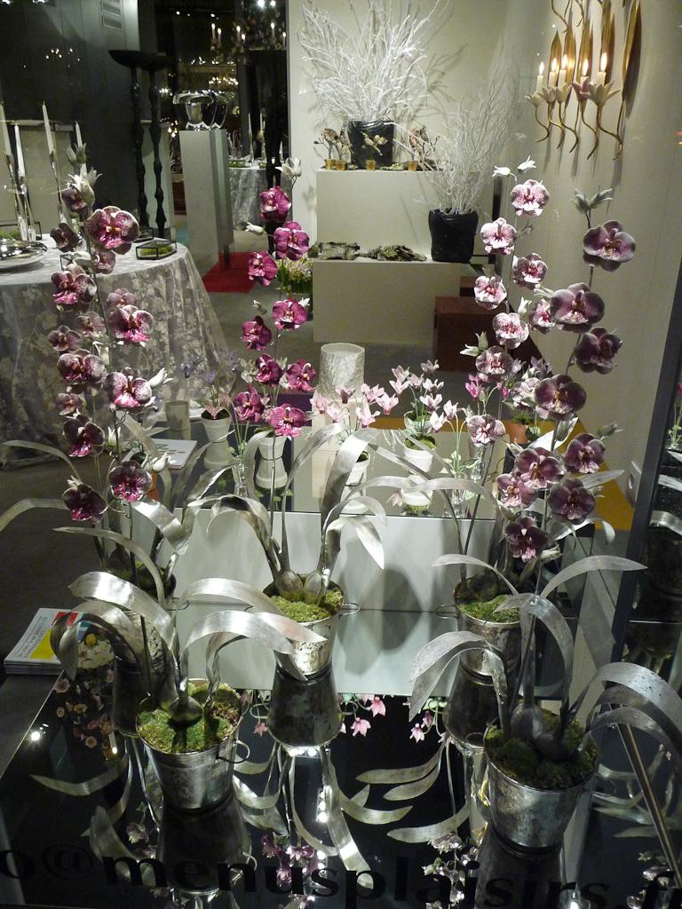 Orchidées, Le Cabinet de Porcelaine (Galerie Menus Plaisirs), Paris 7e (75)