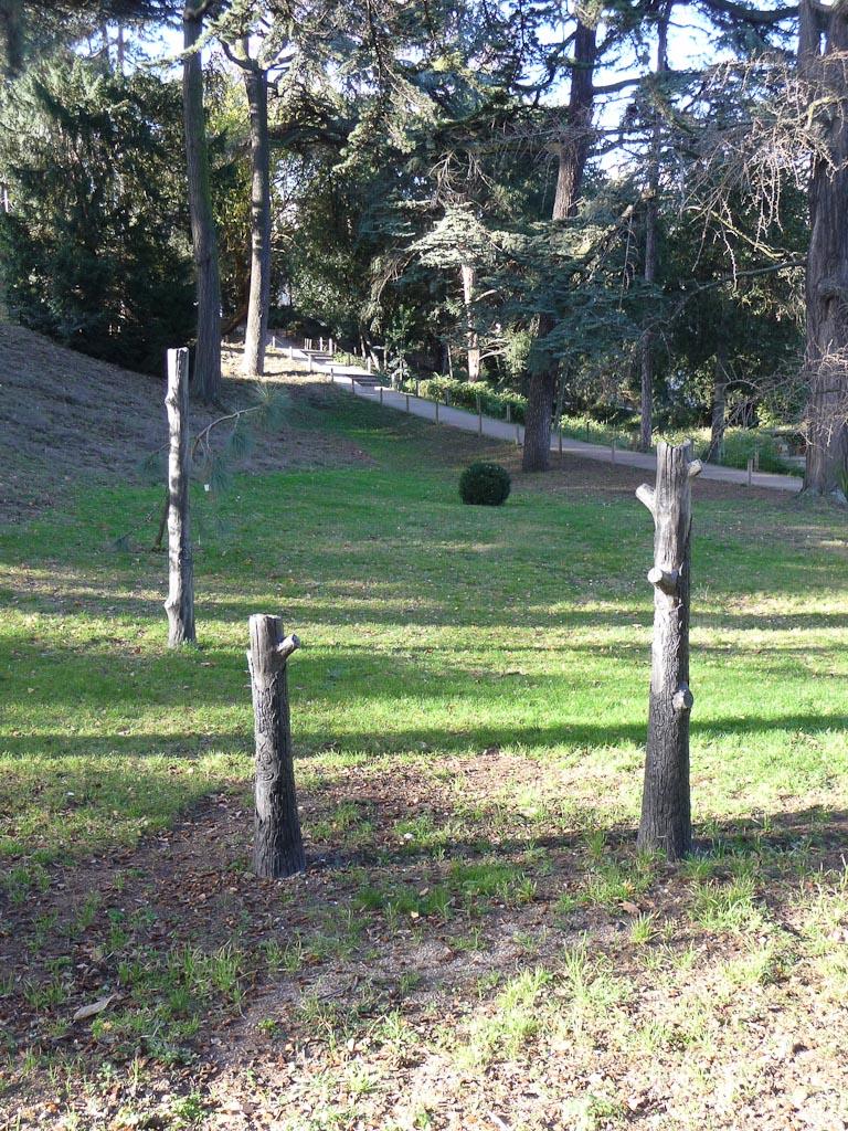 Lava Tree (Olivier Millagou, 2011), FIAC Hors les Murs dans le Jardin des Plantes de Paris, Paris 5e (75)