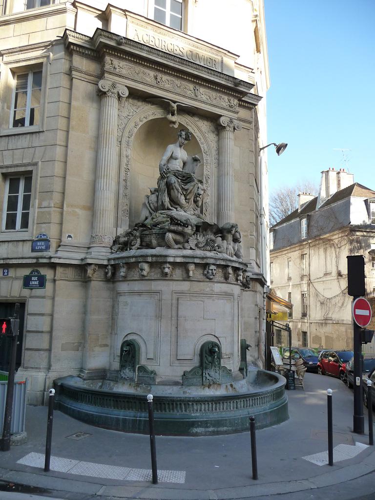 La Fontaine Cuvier, rue Cuvier, Paris 5e (75)