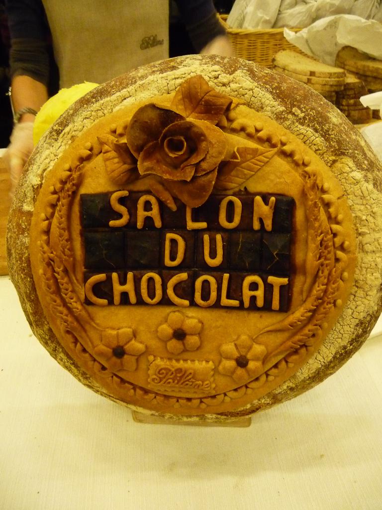 Pain Poilane, Salon du chocolat, Paris (75), octobre 2011, photo Alain Delavie