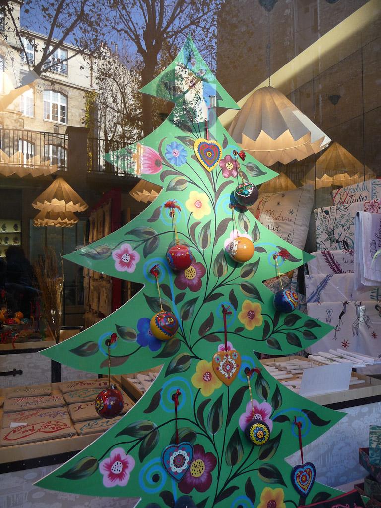 Vitrine de Noël dans Montmartre, Paris 18e (75)
