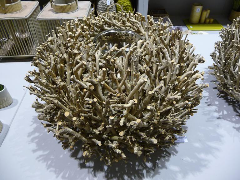 Vase Twine, DHM, salon Maison & Objet 2012, Parc des Expositions Paris Nord Villepinte