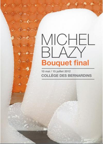"""""""Bouquet final"""" de Michel Blazy au Collège des Bernardins (Paris 5e)"""