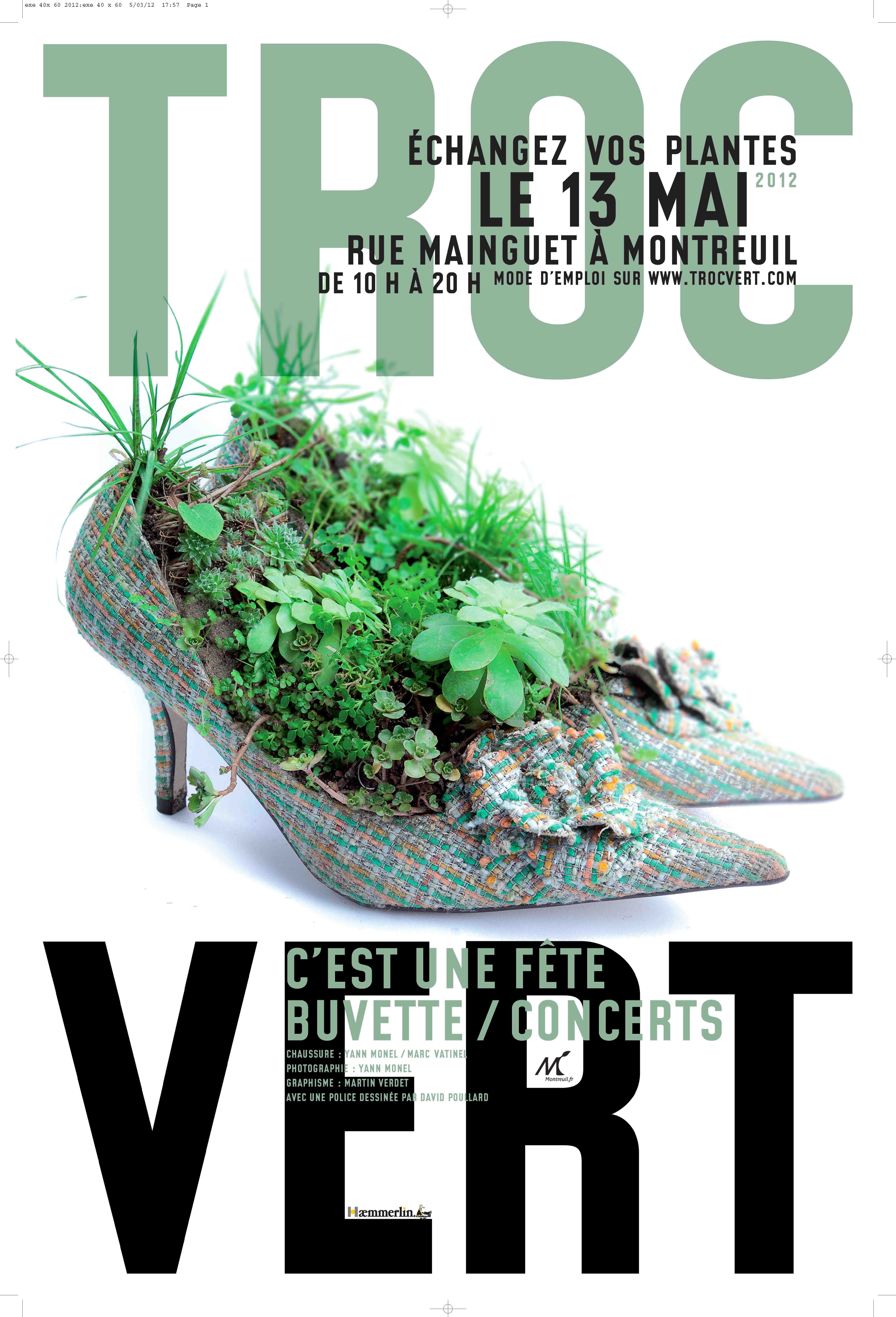 Troc Vert de Montreuil-sous-Bois (93)