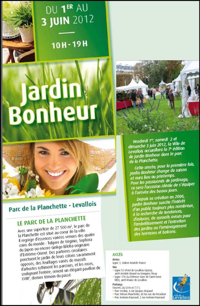 Jardin Bonheur 2012