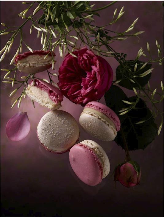 """Macarons Jardin parfumé, collection éphémère """"Les Jardins"""", Pierre Hermé"""