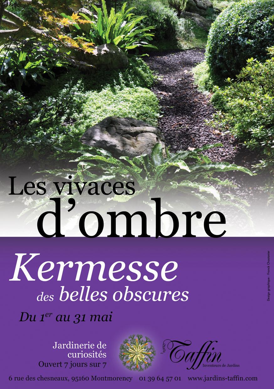 Les vivaces d'ombre Kermesse de belles obscures du 1er au 31 mai 2012