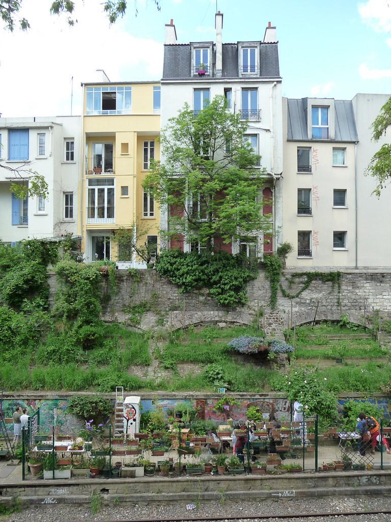 Les jardins du Ruisseau, Paris 18e (75)