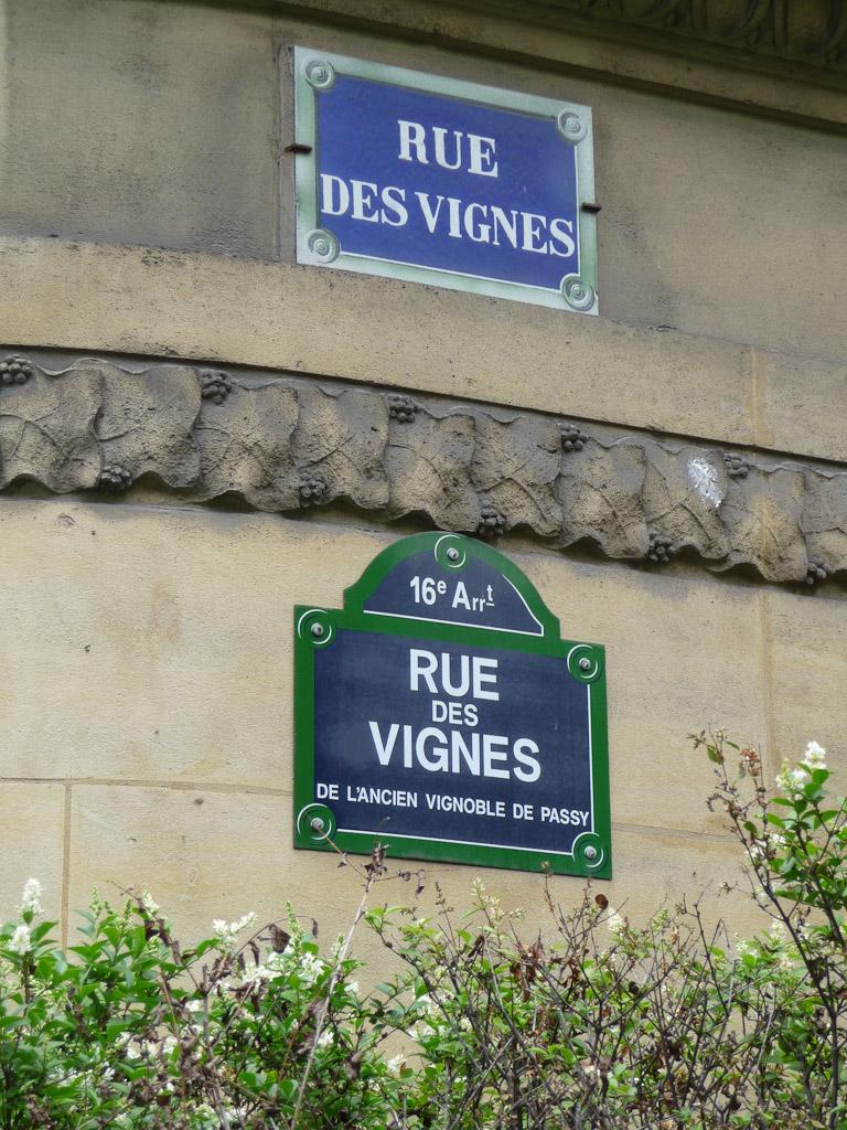 Rue des Vignes, Paris 16e (75)