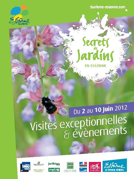 Secrets de Jardins en Essonne du 2 au 10 juin 2012