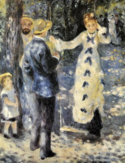 Jeune fille à la balançoire / P.-A. Renoir