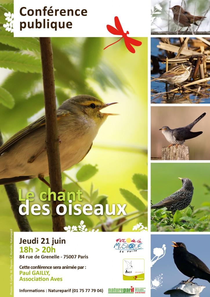 Le chant des oiseaux, Natureparif