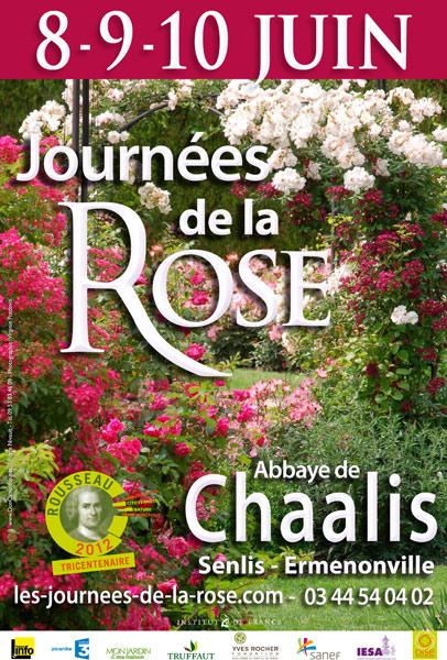 11èmes Journées de la Rose de l'Abbaye de Chaalis (Oise)