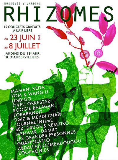 Festival Rhizomes 2012
