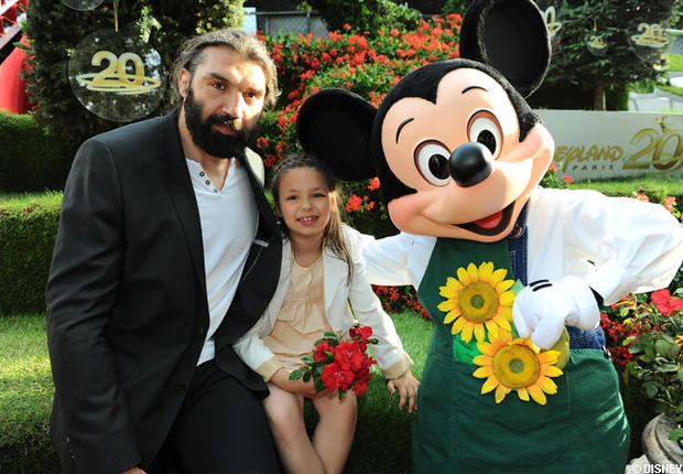 Sébastien,Lily Rose Chabal et Mickey