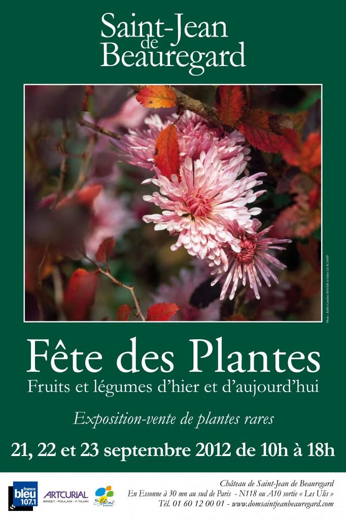 Fête des Plantes, Fruits et Légumes de Saint-Jean de Beauregard (91) en septembre 2012