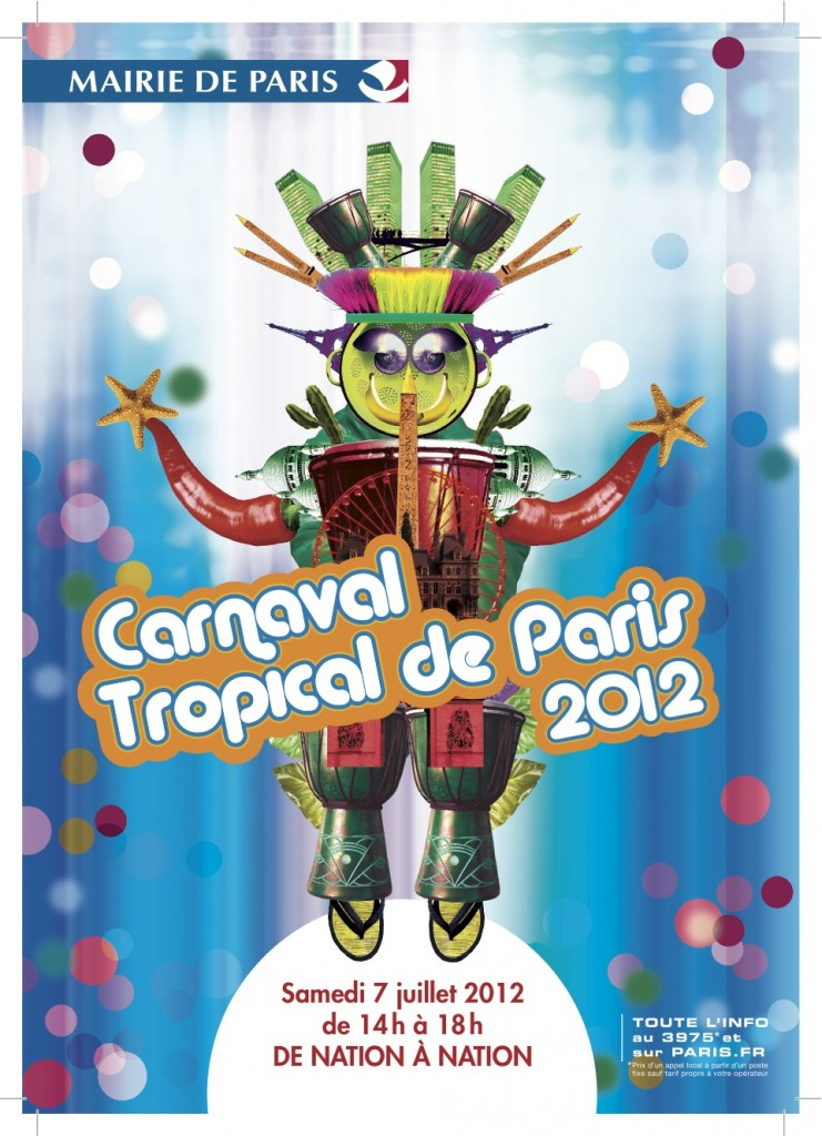 Carnaval tropical de Paris 2012