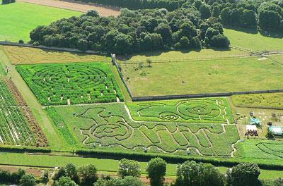 Labyrinthes de la Ferme de Gally (78)