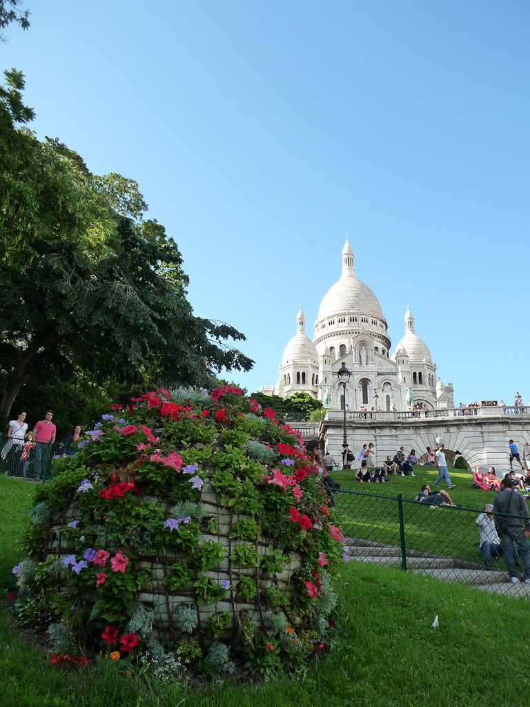Basilique du Sacré Coeur de Montmartre, Paris 18e (75)