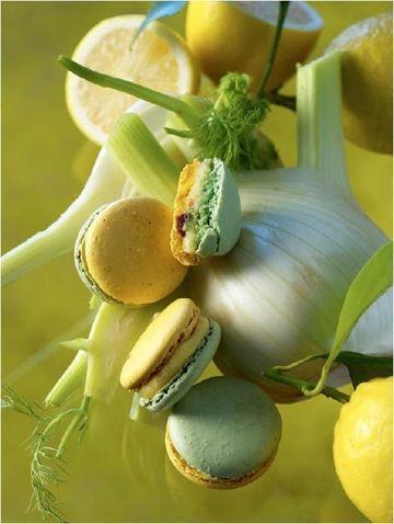 Macaron Jardin d'été, création Pierre Hermé