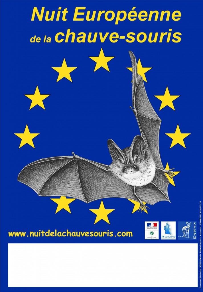 Affiche de la Nuit internationale de la chauve-souris