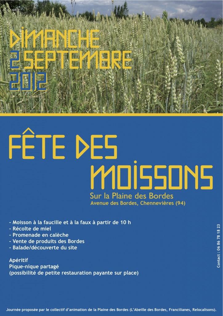 Fête des moissons à Chennevière-sur-Marne (Val de Marne)