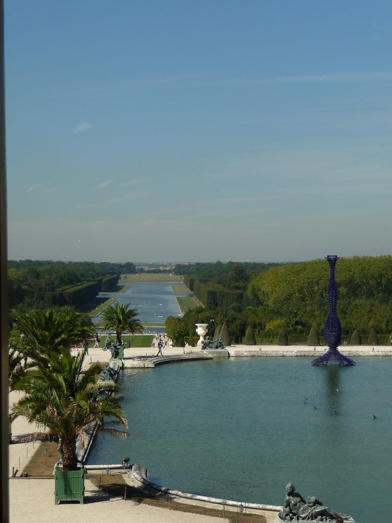 Perspective sur le Grand Canal, Domaine de Versailles, Yvelines