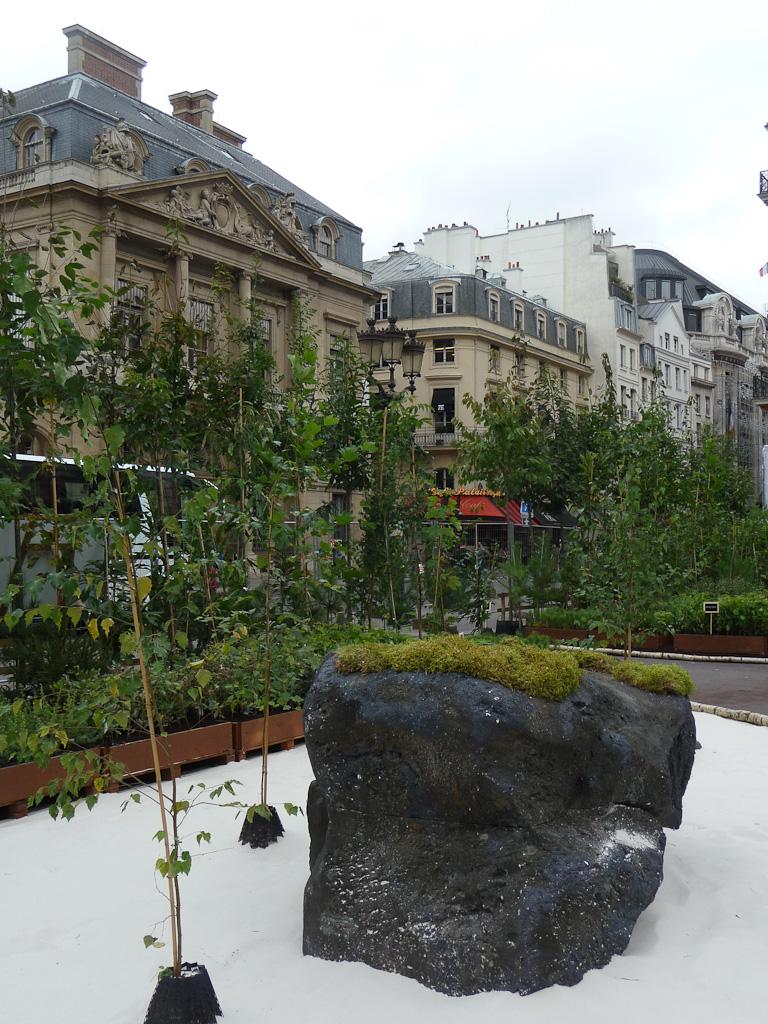 """Exposition """"Bois & Forêt le choix nature !"""", place du Palais Royal, Paris 1er (75)"""