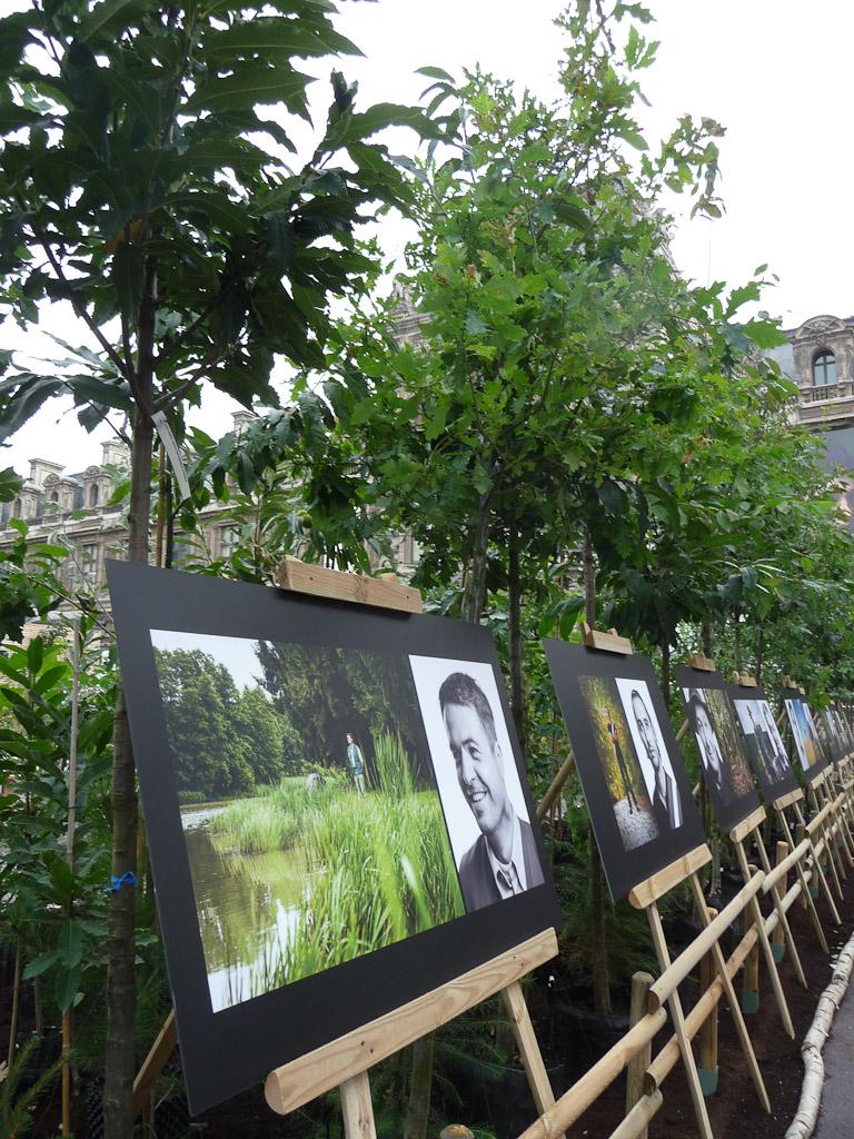 """Exposition photographique, exposition """"Bois & Forêt le choix nature !"""", place du Palais Royal, Paris 1er (75)"""