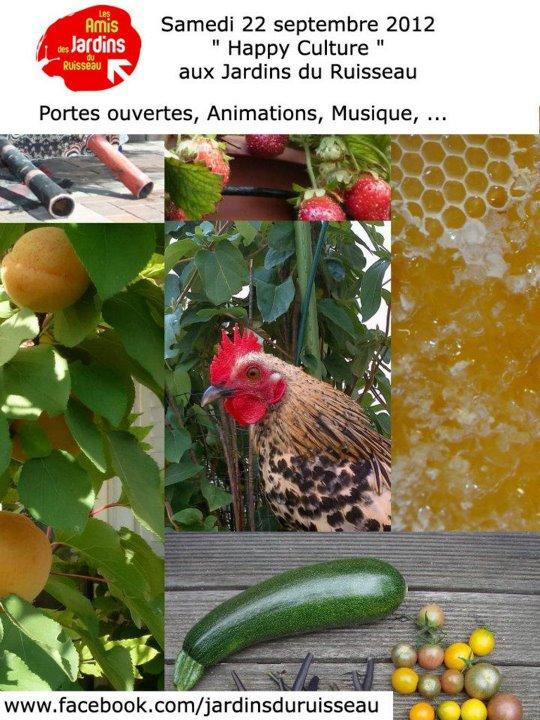 Happy Culture aux Jardins du Ruisseau (Paris 18e)