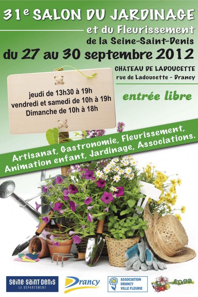 Salon du jardinage à Drancy (Seine-Saint-Denis)
