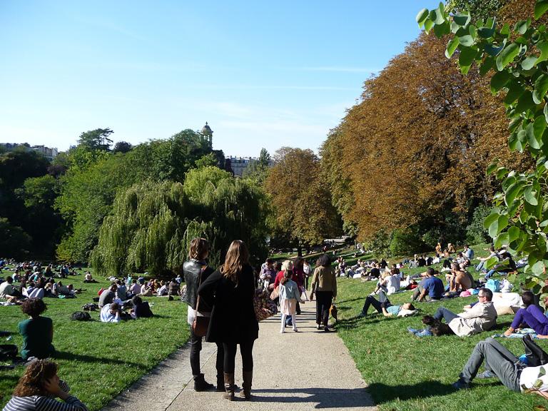 Parc des Buttes-Chaumont, Paris 19e (75)