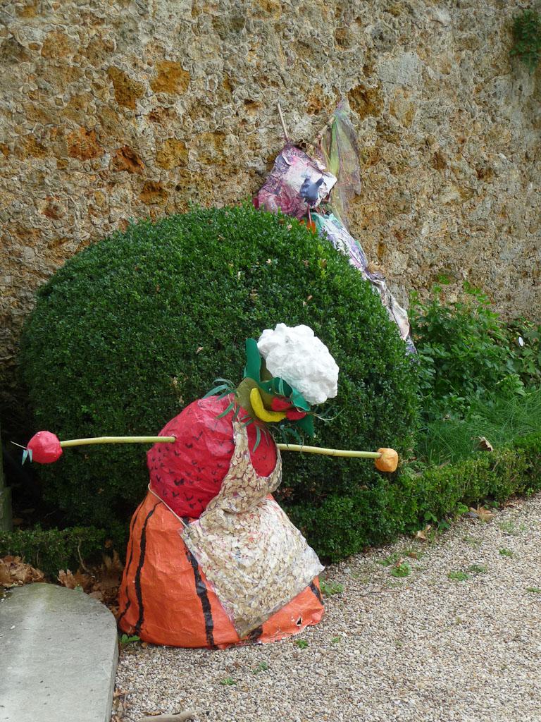 """Jardin d'herbes, exposition """"Savez-vous planter les choux ?"""", parc de Bagatelle"""