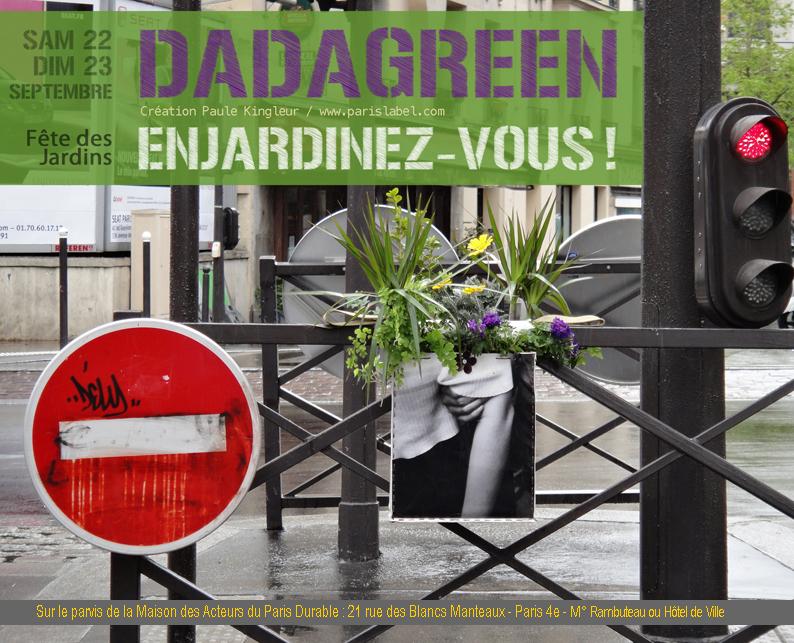 Dadagreen septembre / Paul Kingleur / Paris Label