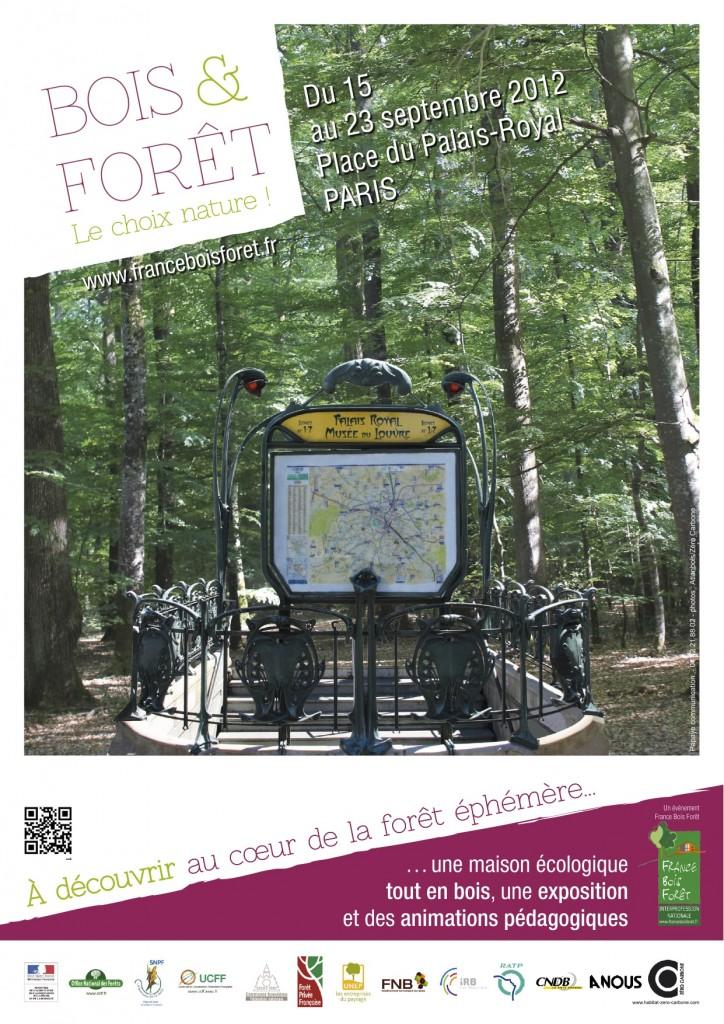 Une forêt éphémère dans Paris