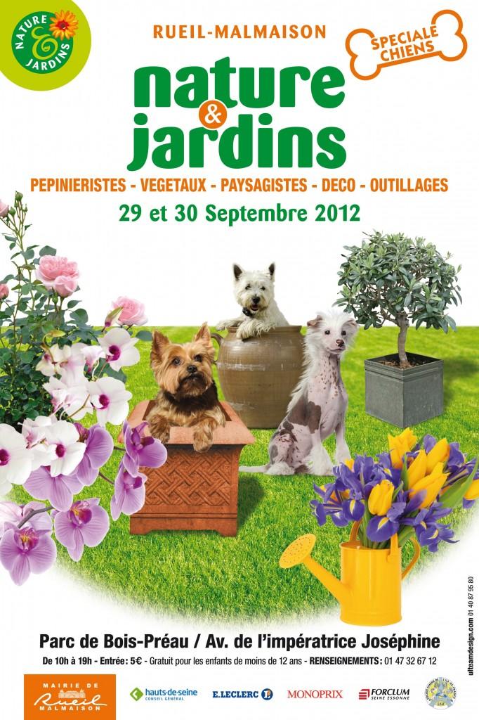 Salon Nature & jardin de Rueil-Malmaison (92) les 29 et 30 septembre 2012
