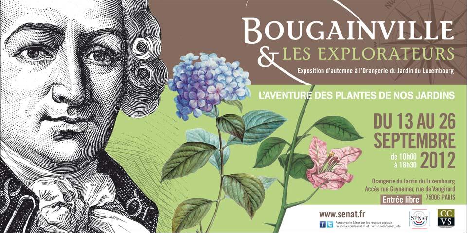 Exposition Bougainville et les explorateurs, Orangerie du Jardin du Luxembourg