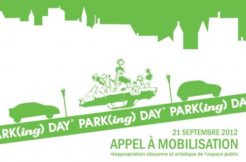 Park(ing) Day 2012 le 21 septembre 2012