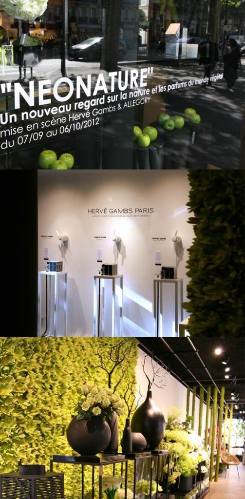 Exposition Néonature by Hervé Gambs + ALLEGORY.ch jusqu'au 6 octobre 2012
