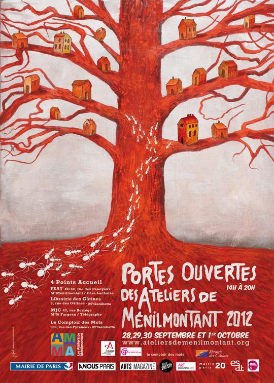 Portes ouvertes des Ateliers de Ménilmontant (Paris 20e)