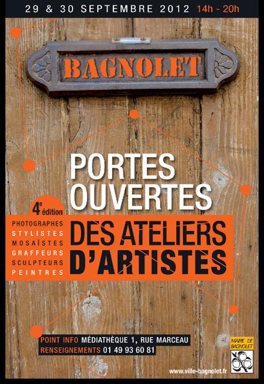 Portes ouvertes des ateliers d'artistes bagnoletais (Bagnolais, 93)