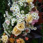 Bouquet de fleurs d'automne, Potager du Roi, Versailles (78), 6 octobre 2012, photo Alain Delavie