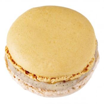 Macaron grand format crème brulée (Pierre Hermé)