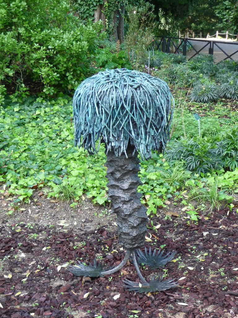 Top Roots, Antoine Dorotte, Fiac Hors les Murs, Jardin des Plantes de Paris en automne, Paris 5e (75)