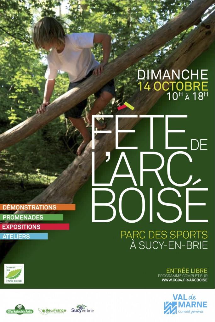 Fête de l'Arc boisé le 14 octobre 2012