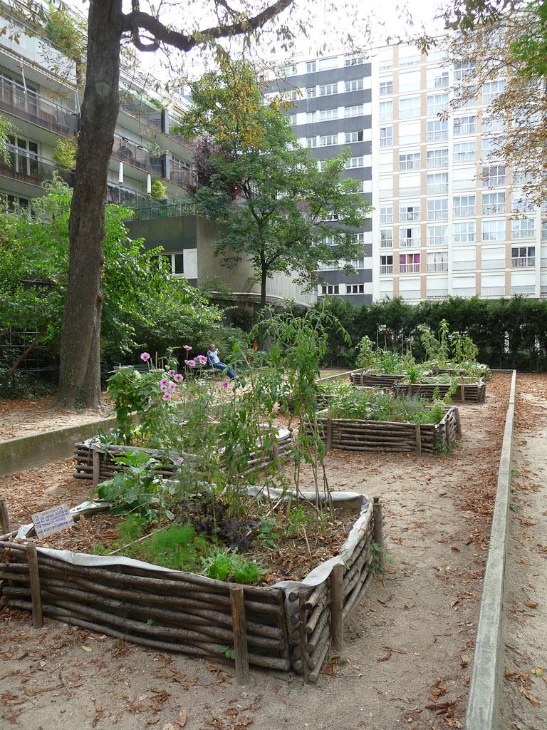 Jardin Marcotte, square Colbert, 159 rue de Charonne, Paris 11e (75)