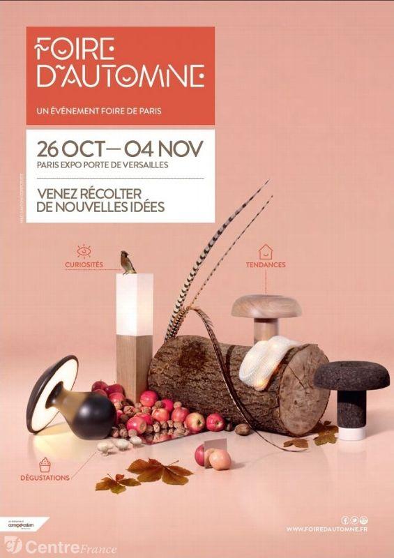 Affiche Foire d'Automne 2012