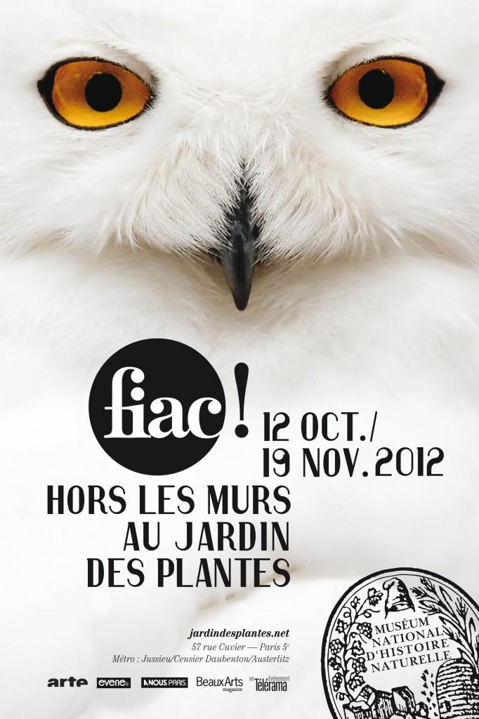 FIAC Hors les Murs au Jardin des Plantes de Paris